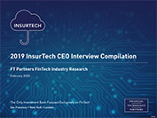 2019 InsurTech CEO Interview Compilation
