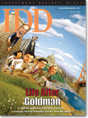 Investment Dealers' Digest: Life After Goldman