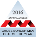 Cross Border M&A Deal of the Year 2016