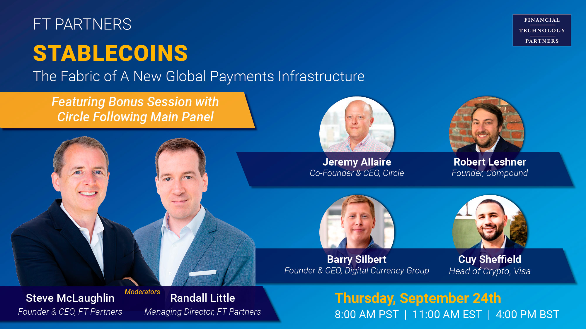 The Fabric of a New Global Payments Infrastructure