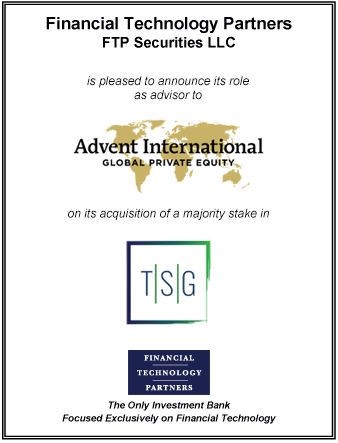 FT Partners Advises Advent International on its Acquisition of TSG