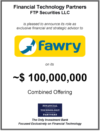 FT Partners Advises Fawry on its $100,000,000 IPO and Private Placement