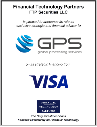 FT Partners Advises GPS on its Strategic Financing from Visa