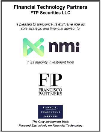 FT Partners Advises NMI on its Majority Investment from Francisco Partners