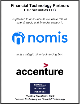 FT Partners Advises Nomis on its Strategic Minority Financing with Accenture