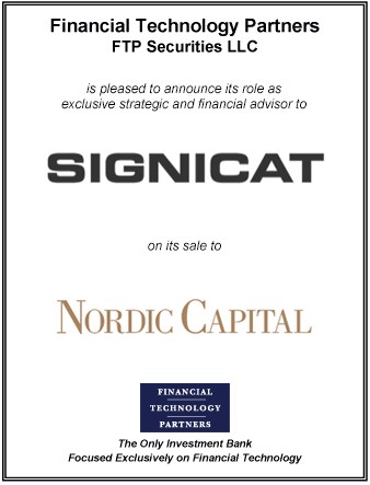 FT Partners Advises Signicat on its Sale to Nordic Capital