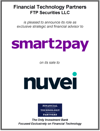 FT Partners Advises Smart2Pay on its Sale to Nuvei
