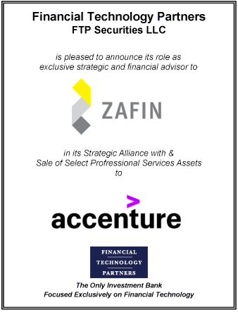 FT Partners Advises Zafin on its Strategic Alliance and Sale of Assets to Accenture